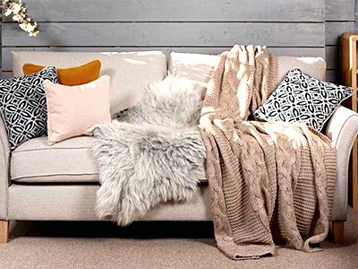 کاربرد شال مبل و تخت