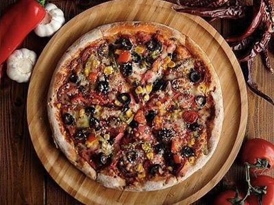 تخته سرو پیتزا